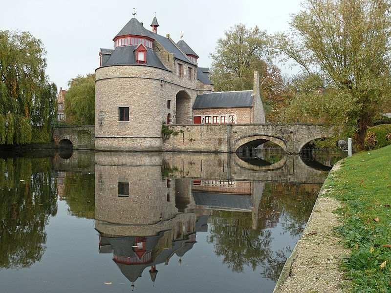 De Ezelpoort in Brugge
